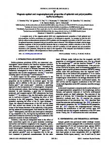 Magneto-optical and magnetoplasmonic properties of epitaxial and ...