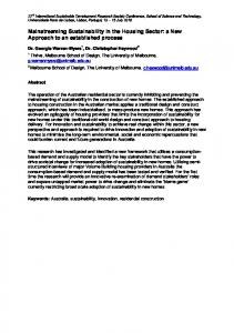 Mainstreaming Environment and Sustainability in African Universities