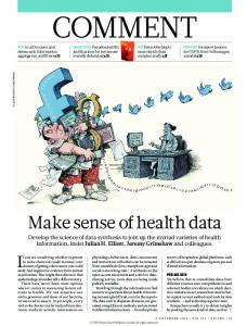 Make sense of health data