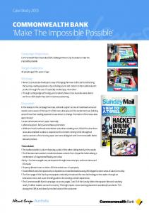 'Make The Impossible Possible' - News Corp Australia