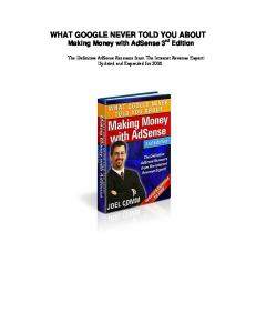 Making Money with AdSense 3rd Edition - The-Hurds.net