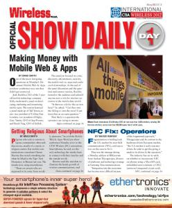 Making Money with Mobile Web & Apps - Advantage Business Media