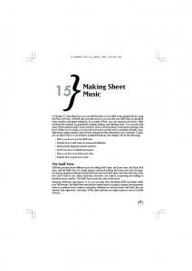 Making Sheet Music - Delmar