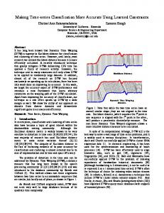 Making Time-series Classification More Accurate Using ... - Cs.ucr.edu