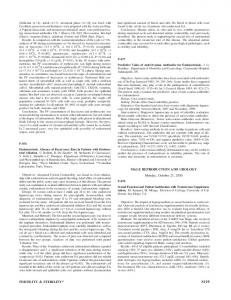 MALE REPRODUCTION AND UROLOGY ... - Fertility and Sterility