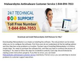 Malwarebytes Antimalware Customer Service 18448947053