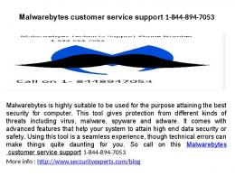Malwarebytes Customer Service Number 1 844 894 7053