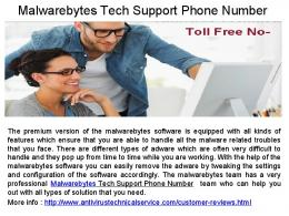 Malwarebytes Software issues Phone Number .