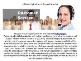 Malwarebytes Suddenly Stopped Its Working, Use Malwarebytes Helpline Number