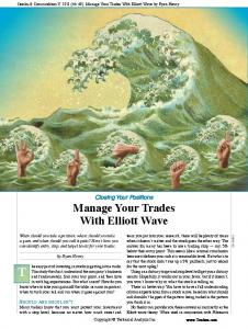 Manage Your Trades With Elliott Wave - Fidelity