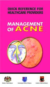 Management of ACNE QR.indd