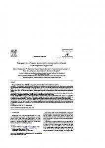 Management of septic shock with a ... - Semantic Scholar