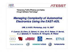 Managing Complexity of Automotive Electronics ... - Semantic Scholar