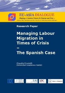 Managing Labour Migration in Times of Crisis – The ...