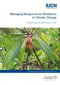 Managing Mangroves for Resilience to Climate Change - IUCN