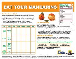 Mandarins - School Nutrition and Fitness