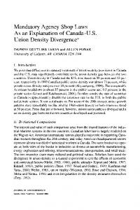 Mandatory agency shop laws as an explanation of ... - Springer Link