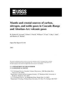 Mantle and crustal sources of carbon, nitrogen, and noble ... - CiteSeerX