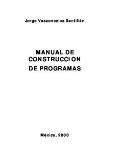MANUAL DE CONSTRUCCION DE PROGRAMAS - CyTA