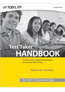 Manual do Candidato Toefl/ITP