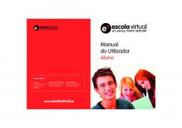 Manual do Utilizador Aluno - moodle
