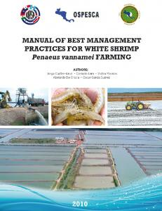 MANUAL OF BEST MANAGEMENT PRACTICES FOR ...