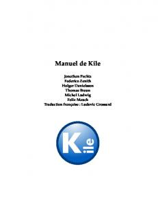 Manuel de Kile - KDE Documentation