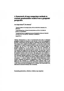 Map comparison methods for comprehensive ... - Semantic Scholar