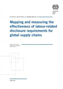 Mapping and measuring the effectiveness of labour-related ... - ILO