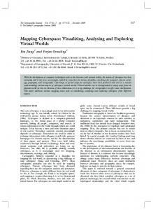 Mapping Cyberspace: Visualizing, Analysing and ... - CiteSeerX