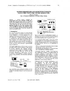 Mapping Home-Network Appliances to TCP/IP ... - Semantic Scholar