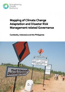 Mapping of Climate Change Adaptation and Disaster