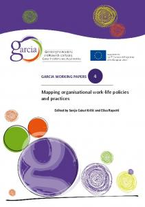 Mapping organisational work-life policies and practices 4 - European ...