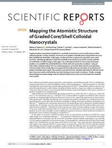 Mapping the Atomistic Structure of Graded Core/Shell Colloidal ...