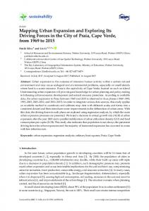 Mapping Urban Expansion and Exploring Its Driving Forces in ... - MDPI