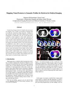 Mapping Visual Features to Semantic Profiles for Retrieval in Medical ...