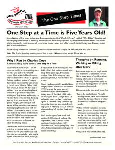 March 2006 - One Step At A Time
