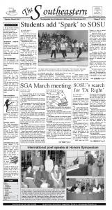 March 8, 2007 - Southeastern Oklahoma State University