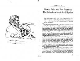 Marco Polo and Ibn Battuta: The Merchant and ... - AP World History