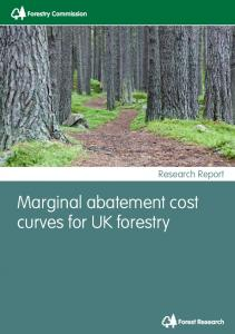 Marginal abatement cost curves for UK forestry - Forestry Commission