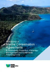 Marine Conservation Agreements - WCS Fiji - Wildlife Conservation