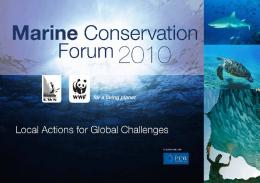 Marine Conservation Forum - WWF
