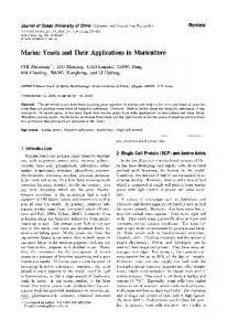 Marine yeasts and their applications in mariculture - yimg.com