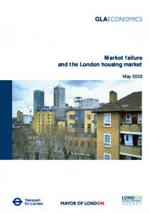 Market failure and the London housing market - Greater London ...