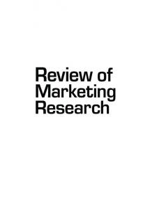 Marketing Research Marketing - WordPress.com