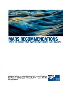 MARS Recommendations