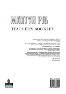 Martyn Pig Teaching resource sheets - Pearson Schools