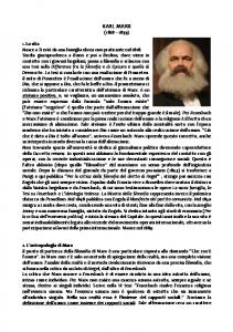 MARX - REVISIONE