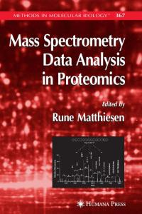 Mass Spectrometry Data Analysis in Proteomics Mass ...