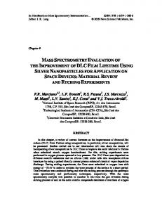 mass spectrometry evaluation of the improvement of
